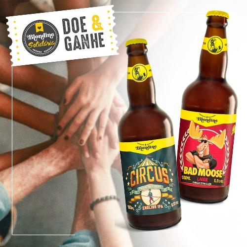 Blondine reverte valor de kit cervejeiro para cestas básicas